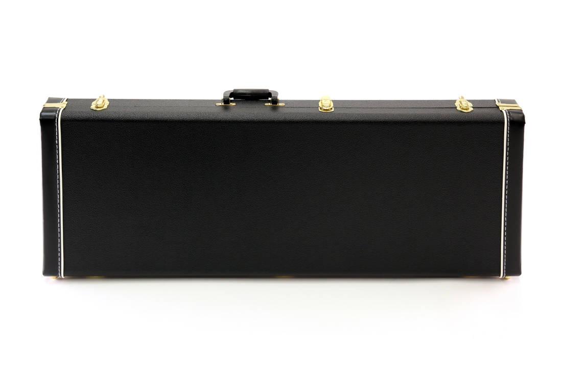 yorkville sound deluxe rectangular electric guitar case long mcquade musical instruments. Black Bedroom Furniture Sets. Home Design Ideas
