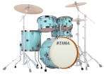 Tama - Silverstar 5-Piece Shell Pack 22,10,12,16,Snare w/Chrome - Light Blue Lacquer