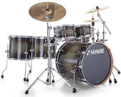 74bb2ce38800 Sonor Select Force S-Drive 6-Piece Drum Kit with Hardware - Dark Forest