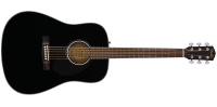 Fender - CD-60S Dreadnought Acoustic Guitar - Black