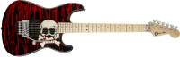 Charvel Guitars - Pro-Mod Warren DeMartini Signature Blood and Skull