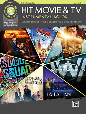 Hit Movie & TV Instrumental Solos - Galliford - Mallet Percussion - Book/CD