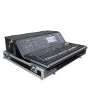 ProX - Flight Road Case for Midas M32 with Doghouse & Wheels