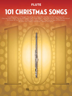 101 Christmas Songs - Flute - Book