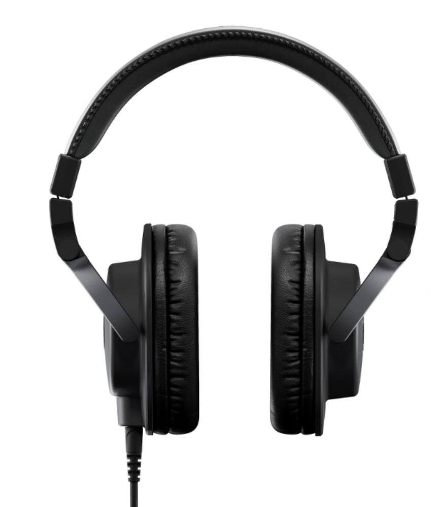 yamaha hph mt5 studio monitor headphones black long mcquade musical instruments. Black Bedroom Furniture Sets. Home Design Ideas