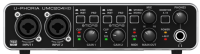 Behringer - U-Phoria UMC204HD Audiophile 2x4, 24-Bit/192 kHz USB Audio/MIDI Interface