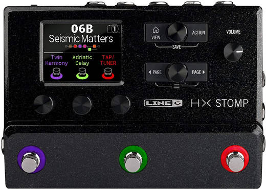 HX Stomp Multi-Effects Processor - Black