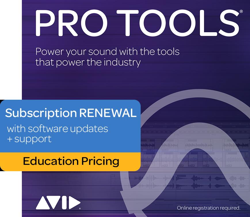 Avid - Pro Tools Student/Teacher 1-Year Subscription Renewal - Download