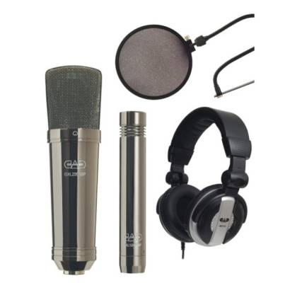 GXL2200BPSP Studio Pack w/ GXL2200BP, GXL1200BP, MH110, EPF15A - Black Pearl Chrome