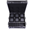 Chauvet DJ - Freedom Flex H4 IP X6 Light Package w/ 6 Lights and Charging Case