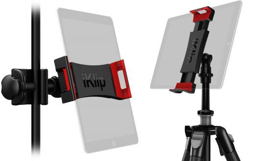 iKlip 3 Deluxe Mic Stand Support and Camera Tripod Mount for iPad and Tablets