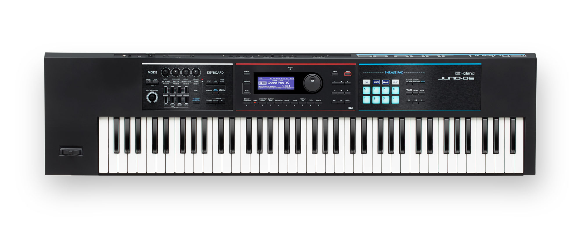 JUNO-DS 76-Key Synthesizer w/Phrase Pads