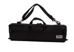 Altieri - B Foot Flute Fitted Case Cover, Student - Black