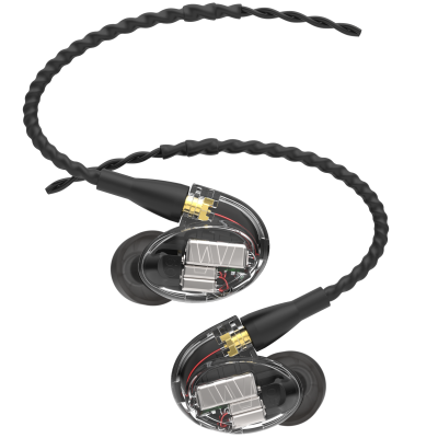 UM Pro 50 Five Driver In-Ear Monitors - Clear