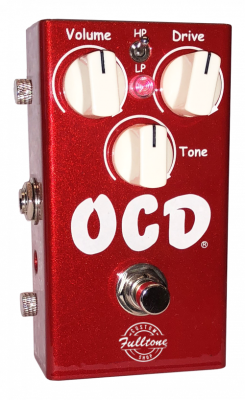 Limited Edition OCD V2 Overdrive Pedal - Candy Apple Red