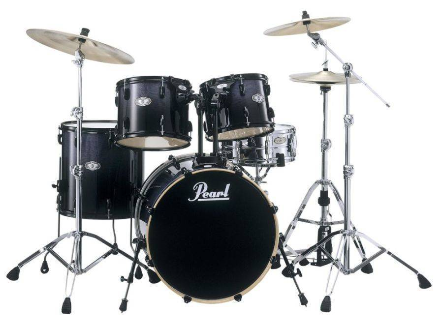 pearl vision vbl 5 piece drum kit concord fade long mcquade musical instruments. Black Bedroom Furniture Sets. Home Design Ideas