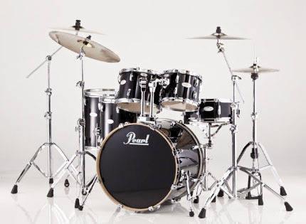 Pearl Vision VML 5-Piece Drum Kit - Black - Long & McQuade