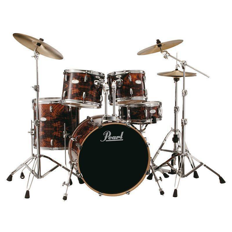 pearl vision vml 5 piece drum kit walnut long mcquade musical instruments. Black Bedroom Furniture Sets. Home Design Ideas