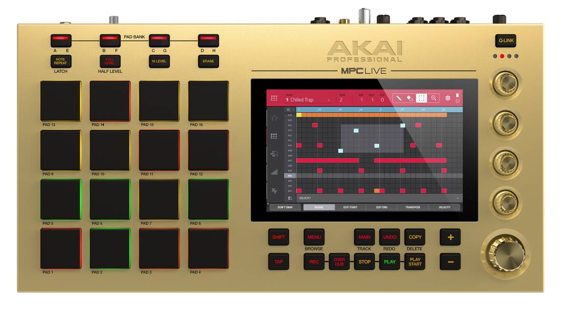 Akai MPC Live Limited Edition Gold Music Production System