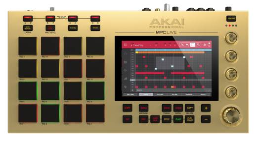 MPC Live Limited Edition Gold Music Production System