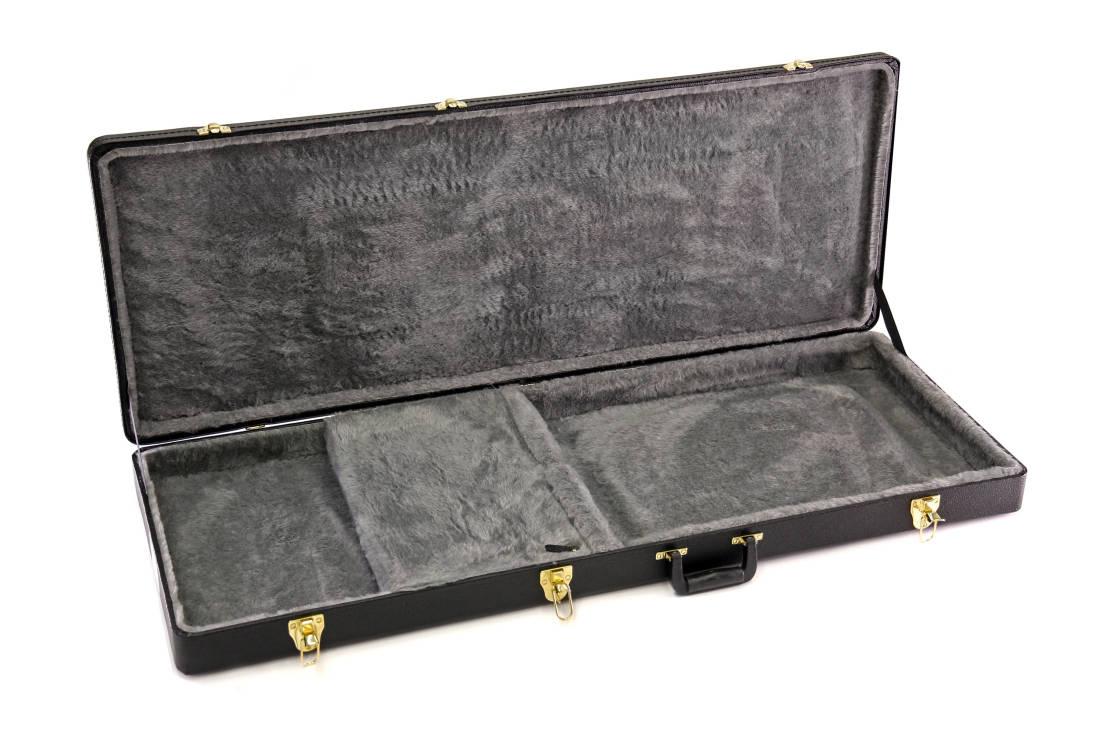 yorkville sound rectangular hardshell guitar case for gibson flying v long mcquade musical. Black Bedroom Furniture Sets. Home Design Ideas