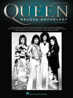 Queen: Deluxe Anthology (Updated Edition) - Piano/Vocal/Guitar - Book