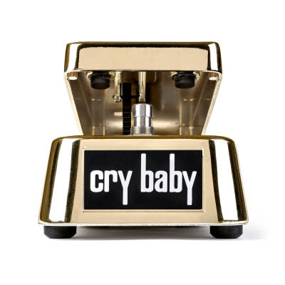 50th Anniversary Gold Cry Baby Wah