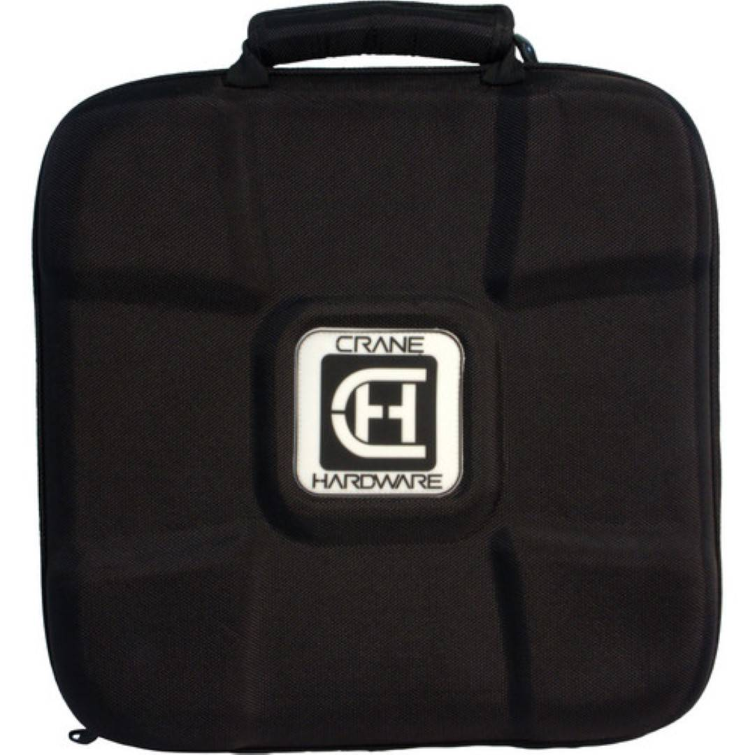Crane Hardware Hard/Soft Case for Vinyl Records and Laptop Stands, 14 Inch