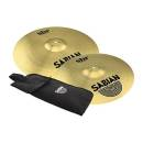 Sabian - SBr 16 & 18 Crash Pack w/Free Stick Bag