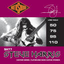 Rotosound - Steve Harris Monel Flatwound Set  50-110
