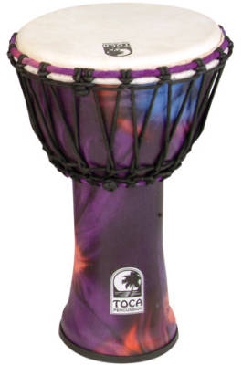 Synergy Freestyle Djembe - 12 inch - Purple