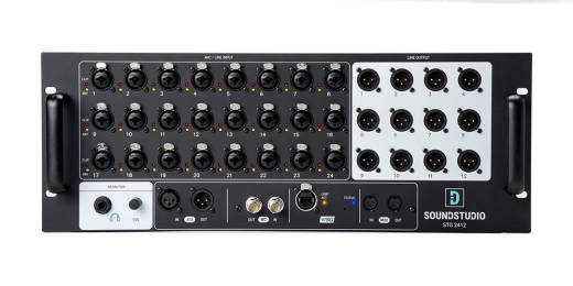 SoundStudio STG 2412 24-in/12-out Stage Box