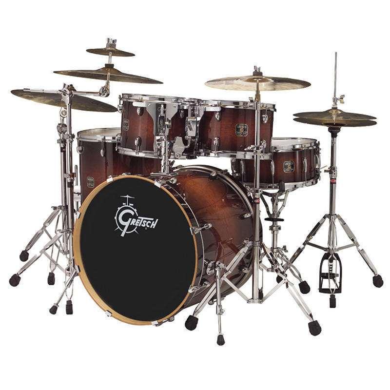 21cf6dabf36c Gretsch Drums Catalina Birch Series 5-Piece Drum Kit - Walnut Burst ...
