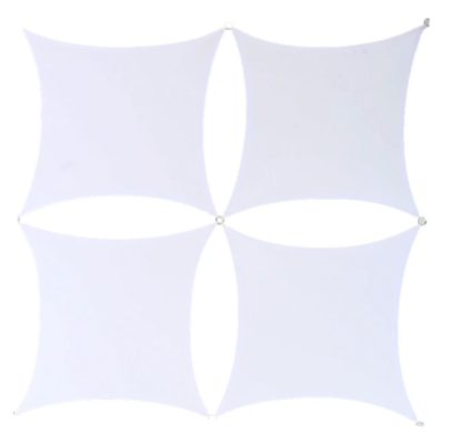22'' x 22'' Wall Panel, 4 Pack - White