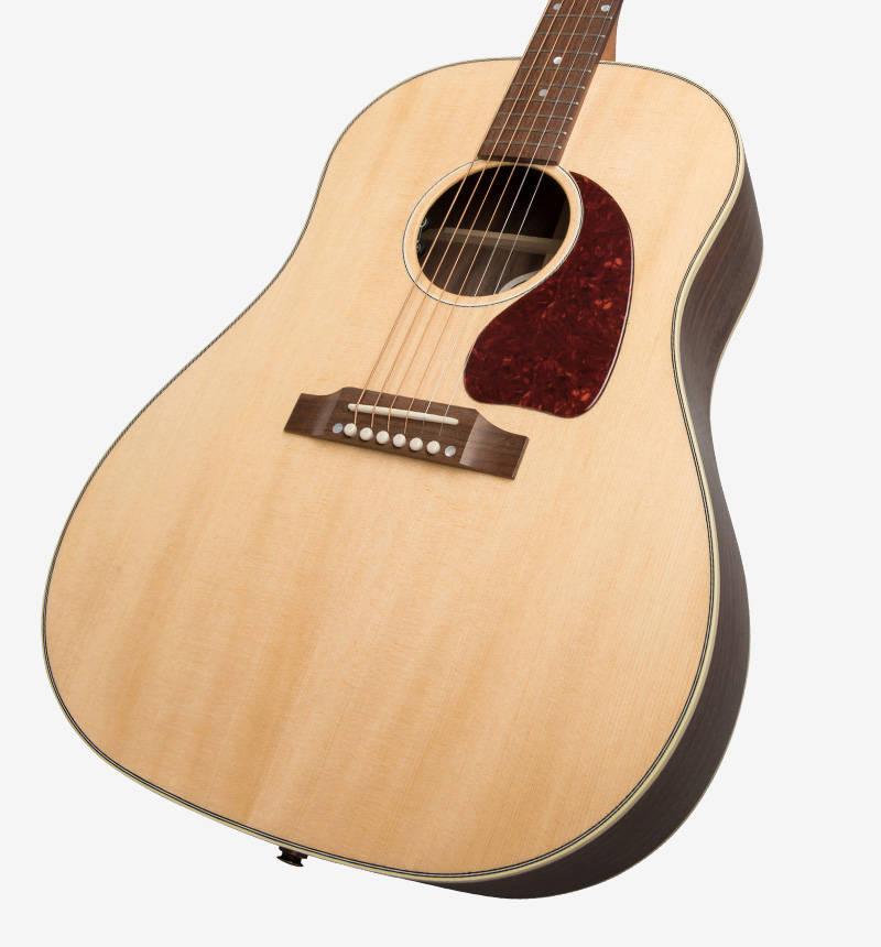 gibson 2019 j 45 studio natural long mcquade musical instruments. Black Bedroom Furniture Sets. Home Design Ideas