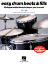Hal Leonard - Easy Drum Beats & Fills - Book/Media Online