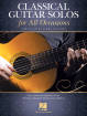Hal Leonard - Classical Guitar Solos for All Occasions - Willard - Classical Guitar - Book
