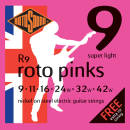 Rotosound - Nickel 9-42 Light Electric Strings