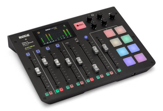 RODECaster Pro Integrated Podcast Production Studio