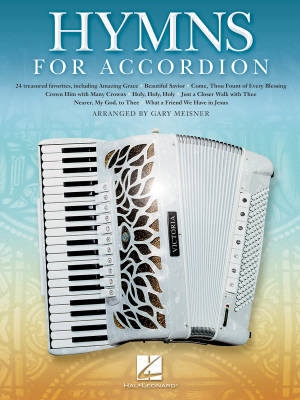 Hymns for Accordion - Meisner - Book