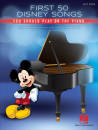 Hal Leonard - First 50 Disney Songs You Should Play on the Piano - Easy Piano - Book