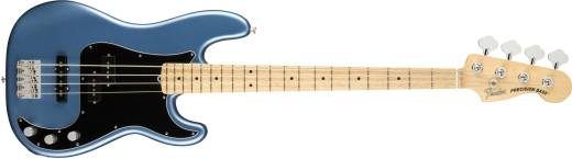 American Performer Precision Bass, Maple Fingerboard - Satin Lake Placid Blue