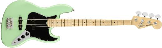 American Performer Jazz Bass, Maple Fingerboard - Satin Surf Green
