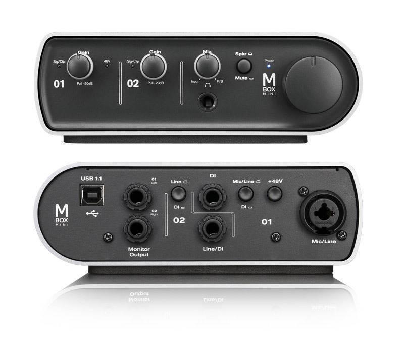 avid mbox mini protools 9 long mcquade musical instruments. Black Bedroom Furniture Sets. Home Design Ideas