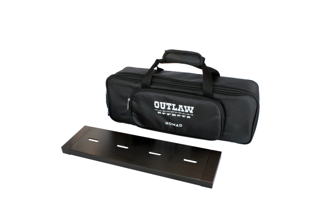 outlaw effects nomad rechargeable powered pedal board small long mcquade musical instruments. Black Bedroom Furniture Sets. Home Design Ideas