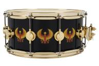 Drum Workshop - Limited Ediiton Icon All-Access Earth Wind & Fire Snare Drum w/ Gold Hardware