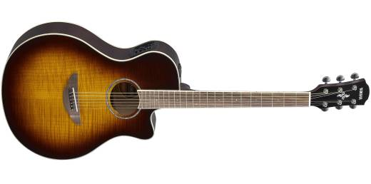 APX600FM Acoustic Elecric w/Cutaway - Flame Maple Tobacco Brown Sunburst