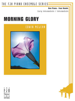 Morning Glory - McLean - Piano Duet (1 Piano, 4 Hands)