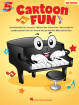Hal Leonard - Cartoon Fun (3rd Edition) - Five Finger Piano - Book