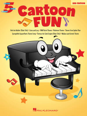 Cartoon Fun (3rd Edition) - Five Finger Piano - Book
